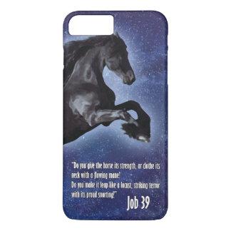 Caso más del iPhone 7 del caballo del trabajo 39 Funda iPhone 7 Plus