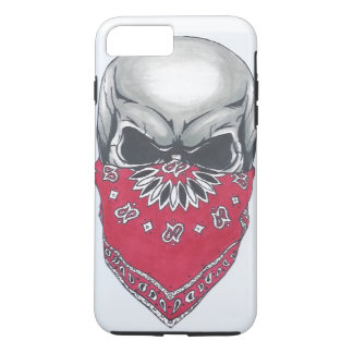 Caso más del iPhone 7 duros del cráneo de Banadana Funda iPhone 7 Plus