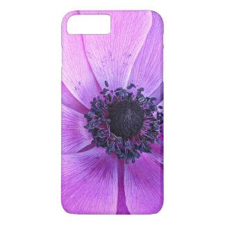 Caso más del iPhone 7 florales púrpuras intrépidos Funda iPhone 7 Plus