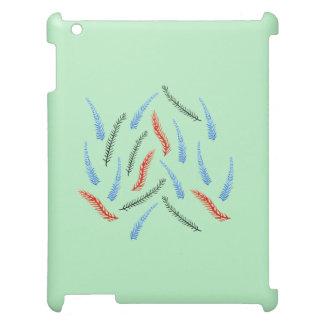 Caso mate del iPad de las ramas