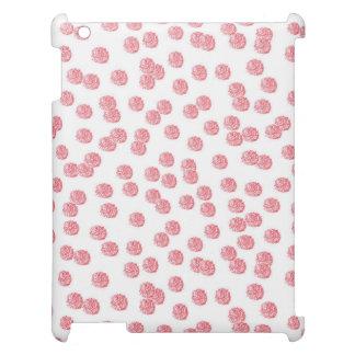 Caso mate del iPad de los lunares rojos