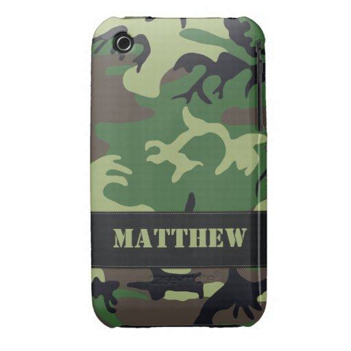 Caso militar adaptable del iPhone 3G/3G de Camo iPhone 3 Cobreturas