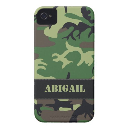 Caso militar adaptable del iPhone 4 de Camo Case-Mate iPhone 4 Funda