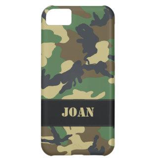 Caso militar adaptable del iPhone 5 de Camo Funda iPhone 5C
