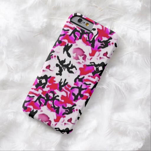 Caso militar del iPhone 6 de Camo de las mujeres Funda De iPhone 6 Barely There