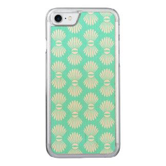 Caso minúsculo del iPhone del Aquamarine de los Funda Para iPhone 7 De Carved
