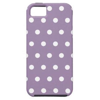 Caso modelado lunar púrpura del iPhone 5 de la iPhone 5 Case-Mate Cárcasa