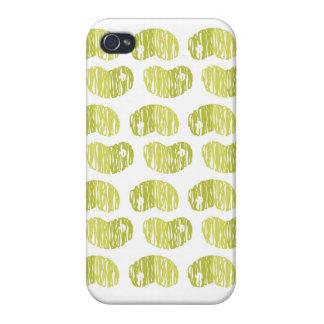 Caso moderno del iPhone del diseño de la haba de L iPhone 4 Cárcasa