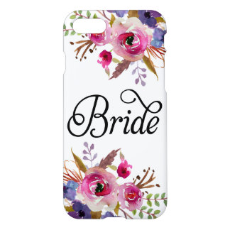 Caso moderno floral del iPhone 7 de Zazzle del Funda Para iPhone 8/7