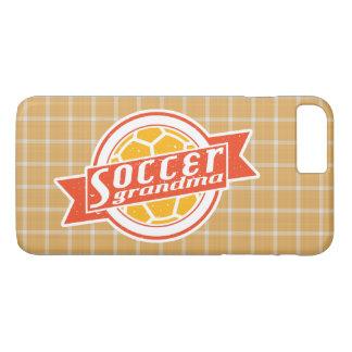Caso móvil de la abuela del fútbol funda iPhone 7 plus