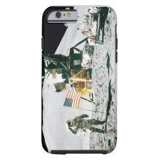 """Caso móvil: Hombre en la luna """" Funda Resistente iPhone 6"""