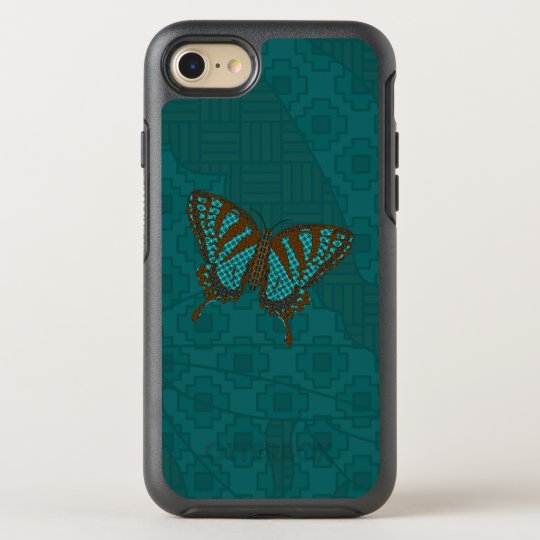Caso nativo del teléfono de Swallowtail Otterbox Funda OtterBox Symmetry Para iPhone 7
