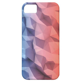Caso polivinílico bajo hermoso abstracto de 3D Funda Para iPhone SE/5/5s