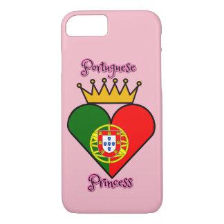 Caso portugués del iPhone 7 de la princesa Funda Para iPhone 8/7