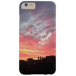 Caso precioso de la puesta del sol funda barely there iPhone 6 plus