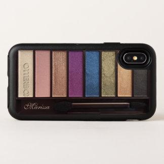 Caso purpurinoso moderno del iPhone X de OtterBox