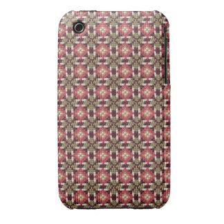 Caso retro del iPhone 3G/3GS del bordado Case-Mate iPhone 3 Carcasas