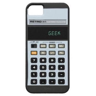 Caso retro del iPhone 5 de la calculadora Funda Para iPhone 5 Barely There