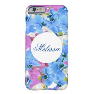 Caso romántico floral del iPhone de los tulipanes Funda Barely There iPhone 6