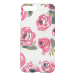 Caso rosado del iPhone de los rosas Funda Para iPhone 7 Plus