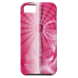 Caso rosado del iPhone de Techno iPhone 5 Cárcasa