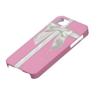 Caso rosado del presente Iphone5s iPhone 5 Case-Mate Funda