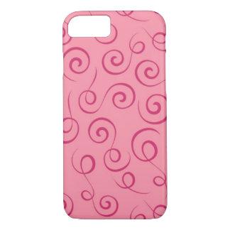 Caso rosado funda iPhone 7