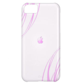 Caso rosado funda para iPhone 5C