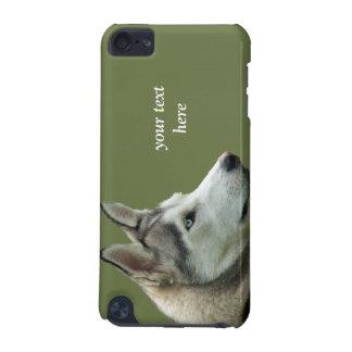 Caso siberiano fornido del tacto 4G de iPod de la  Funda Para iPod Touch 5G
