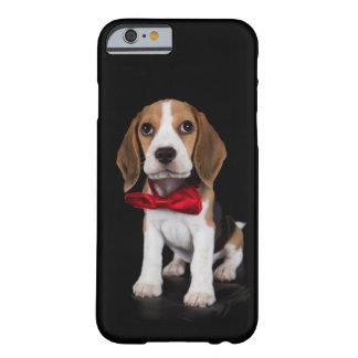 Caso Snoopy del iphone 6 del perrito del beagle Funda De iPhone 6 Barely There