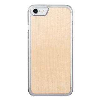 Caso tallado del iPhone 7 delgados de la cereza Funda Para iPhone 8/7 De Carved