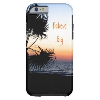 Caso temático del iPhone 6 de la playa Funda Para iPhone 6 Tough
