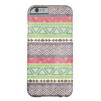 Caso tribal azteca del iPhone 6 del modelo 1 del Funda De iPhone 6 Barely There