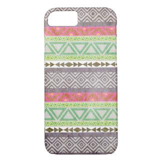 Caso tribal azteca del iPhone 7 del modelo 1 del Funda iPhone 7