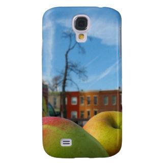 Caso urbano de Iphone 3 de las manzanas Funda Para Galaxy S4