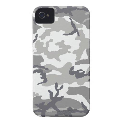 Caso urbano del iPhone 4 de Barely There del camuf iPhone 4 Case-Mate Cobertura