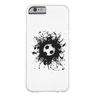 Caso urbano del iPhone 6 del estilo del fútbol Funda De iPhone 6 Barely There