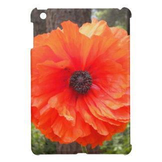 Caso vibrante del iPad de la flor