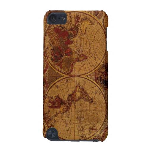 Casos 1780 del tacto de iPod del mapa de Viejo Mun
