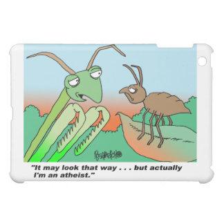 Casos ateos del iPad de la mantis religiosa