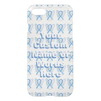 Casos azules claros del iPhone de la cinta de la Funda Para iPhone 8/7