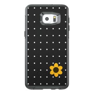 Casos de Sunny_Sm-Flower_Dots (c) Funda OtterBox Para Samsung Galaxy S6 Edge Plus