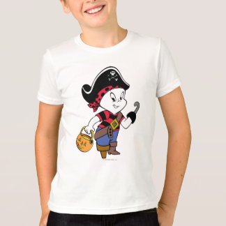 Casper en traje del pirata camiseta