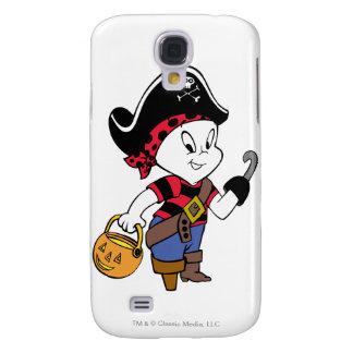 Casper en traje del pirata funda para galaxy s4