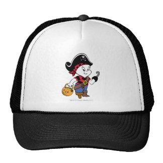 Casper en traje del pirata gorro de camionero