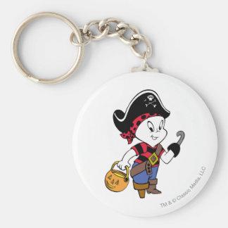 Casper en traje del pirata llavero