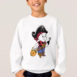 Casper en traje del pirata sudadera
