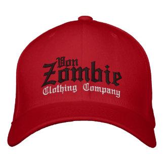Casquillo 001E de Von Zombie Skull Gorra De Béisbol