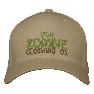 Casquillo 002B de Von Zombie Skull Gorra De Béisbol