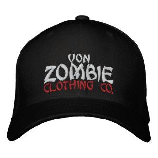 Casquillo 002C de Von Zombie Skull Gorra De Béisbol Bordada